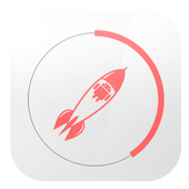 One click booster icon