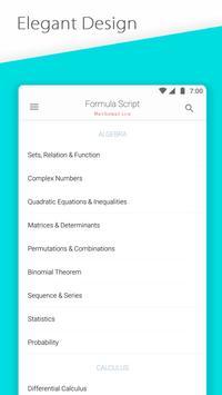 Formula Script apk screenshot