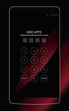 Theme for Oppo R5s HD: Black & Red screenshot 2