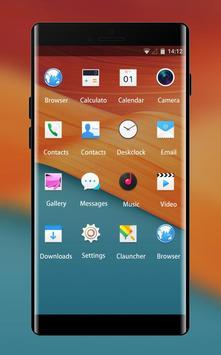 ColorOS Launcher Theme for Oppo F3 Wallpaper screenshot 1