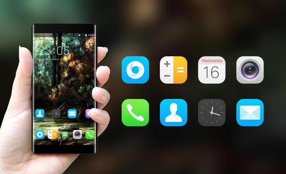 Theme for Oppo Neo 5 Forest background apk screenshot