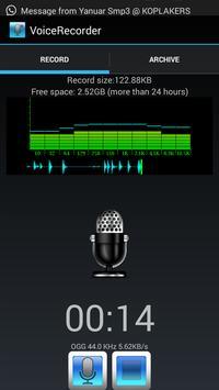 Flexi Voice Recorder poster