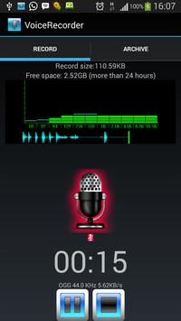 Flexi Voice Recorder screenshot 1