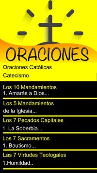 Oraciones Católicas screenshot 1
