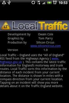 Local Traffic - England screenshot 1
