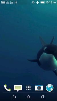 Orca 3D Video Wallpaper screenshot 1