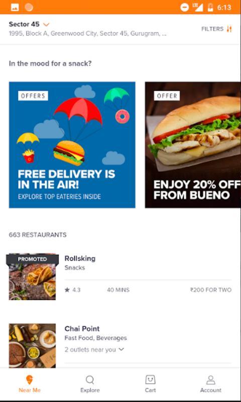 Mcdonalds Food Delivery App