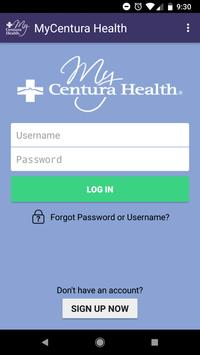 MyCentura Health poster