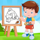 Kids Coloring Fun icon