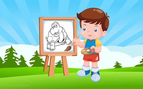 Kids Coloring Fun poster