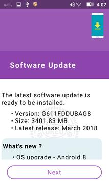Upgrade To Android 8 / 8.1 - Oreo screenshot 1