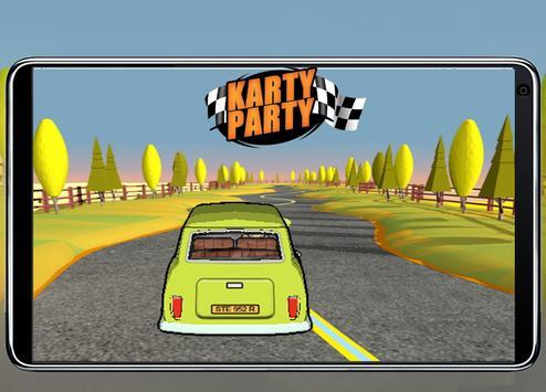 Bean Kart Party screenshot 2