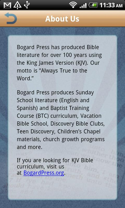 Bogard Press E-Books poster