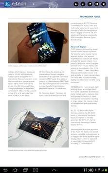 IEC e-tech apk screenshot