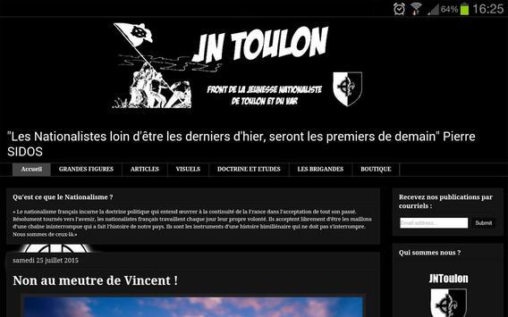 JNToulon screenshot 2
