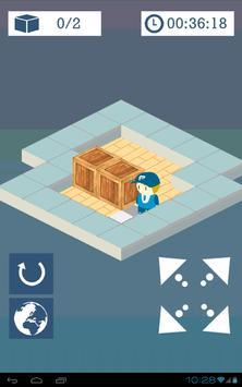 Push the Crate Sokoban Swype screenshot 2