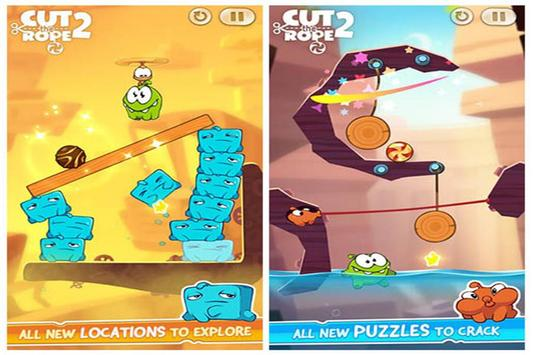 Guide for Cut the Rope 2 poster