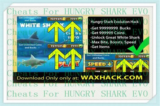 Guide Evolution Hungry Shark poster