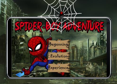 SpiderBoy Adventure Game apk screenshot