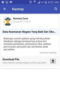 Sespim Polri apk screenshot