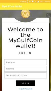 MyGulfCoin Wallet poster