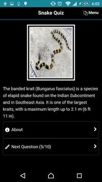 Snake Quiz screenshot 6