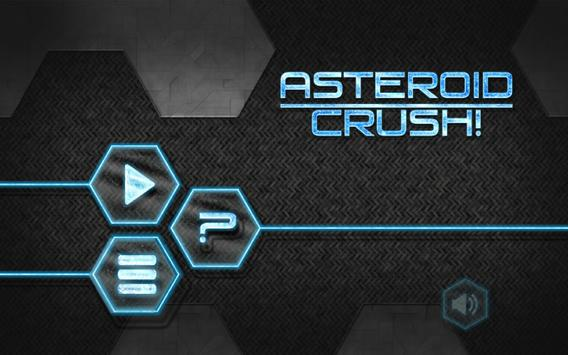 Asteroid Crush! apk screenshot