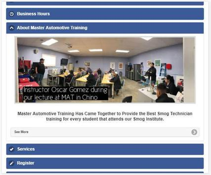 Master Automotive Training screenshot 4