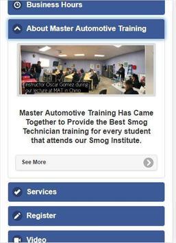 Master Automotive Training screenshot 2