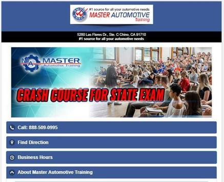 Master Automotive Training screenshot 3