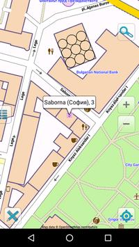 Map of Bulgaria offline apk screenshot