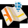 Map of Greece offline-icoon