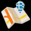 Map of Greece offline ikona