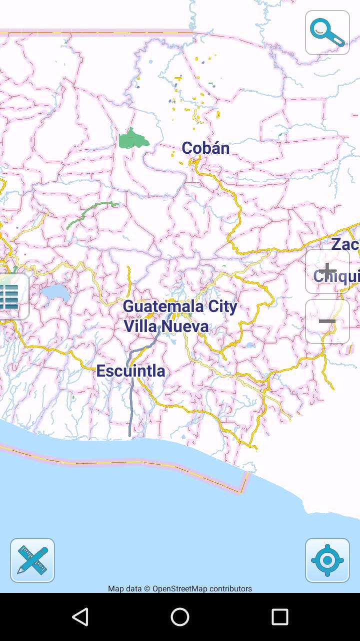 Guatemala Karte.Karte Von Guatemala Offline Für Android Apk Herunterladen