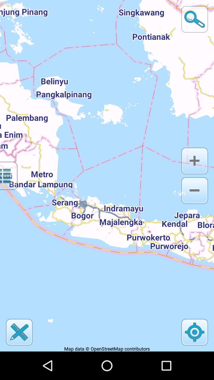 Indonesia Offline Map Map of Indonesia offline for Android   APK Download