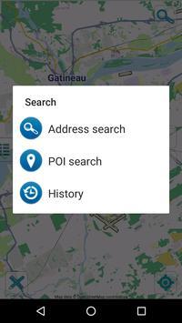 Map of Ottawa offline apk screenshot
