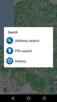 Map of Latvia offline apk screenshot