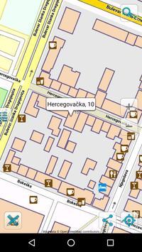 Map of Montenegro offline apk screenshot