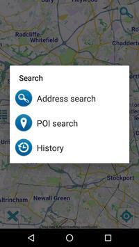 Map of Manchester offline apk screenshot