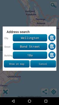 Map of New Zealand offline screenshot 2