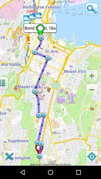 Map of New Zealand offline screenshot 4