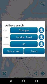Map of Scotland offline apk screenshot