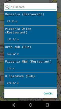 Map of Slovakia offline screenshot 5