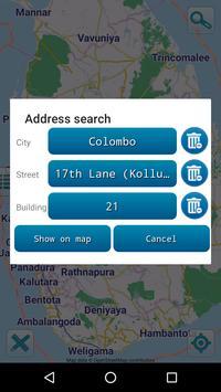 Map of Sri Lanka offline apk screenshot