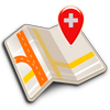 Map of Switzerland offline ikona