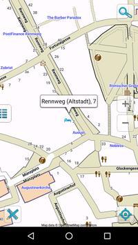 Map of Switzerland offline screenshot 3