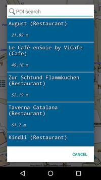 Map of Switzerland offline screenshot 5