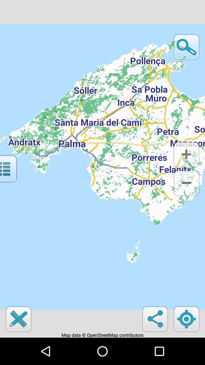 Carte De Palma De Majorque Hors Ligne Pour Android Telechargez L Apk