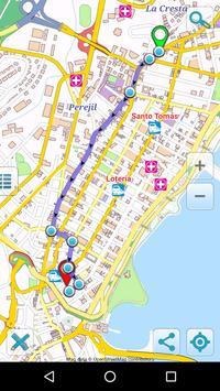 Map of Panama offline screenshot 4