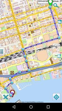 Map of Toronto offline apk screenshot